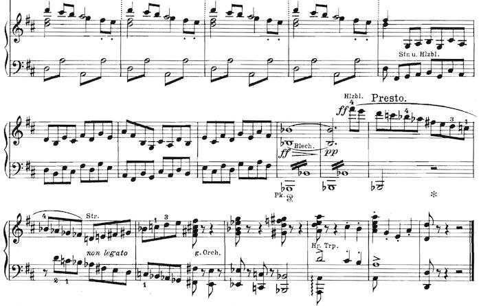 Gustav Mahler, 5. Sinfonie, Ende