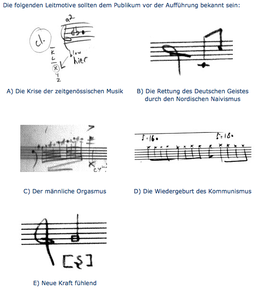 Trond Reinholdtsen: Musik (Programmheft)
