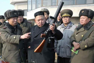 Kim Jong Un beim Improvisieren