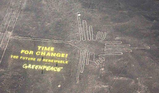 Kolibri (r.), Greenpeace (l.)