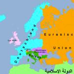 Das neue Europa nach der Auflösung Österreichs – jetzt mit Karte!