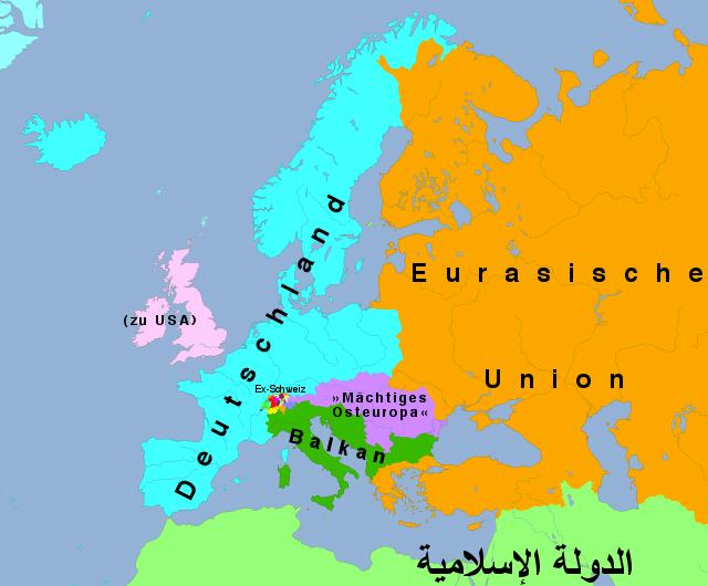 Europa nach Dugin und Gaddafi