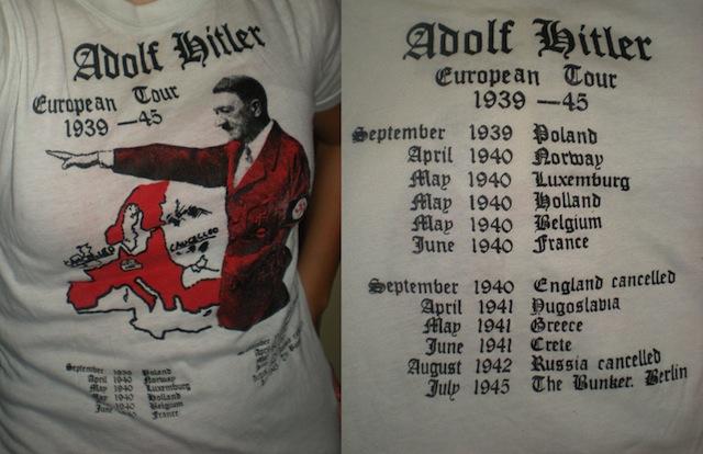 Hitler European Tour Mug