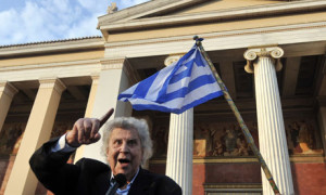 Berühmter Aktivist: Mikis Theodorakis