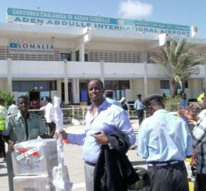 Der Flughafen von Mogadischu hat leider bereits einen anderen Namenspatron...