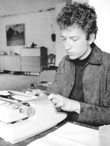 Der berühmte Schriftsteller Bob Dylan