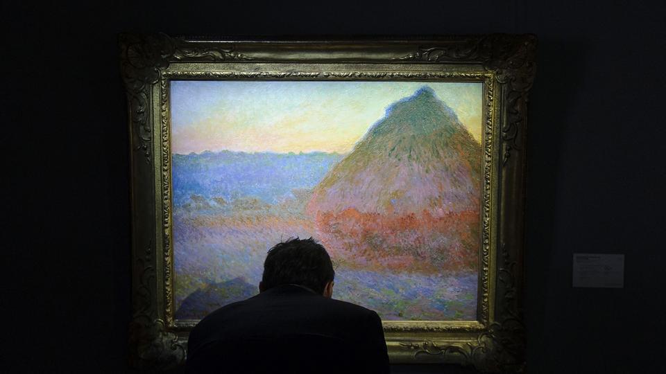 Der apokalyptische Berg von Claude Monet