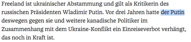 Der Putin