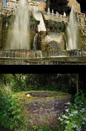 Zwei Brunnen