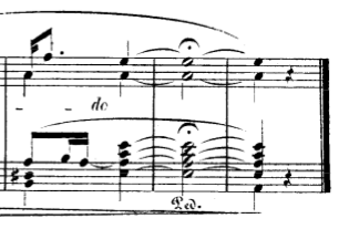 Robert Schumann – Kind im Einschlummern, Ende